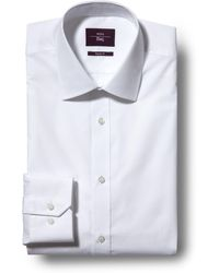 Moss Esq. Regular Fit White Shirt