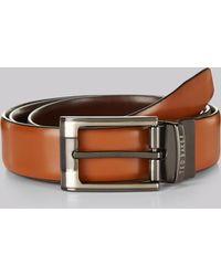 Ted Baker Tan Reversible Leather Belt - Brown