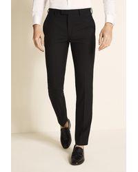 DKNY Slim Fit Black Dress Pants