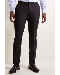 DKNY Slim Fit Black Pants