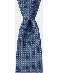 Moss London Ice Blue Textured Tie