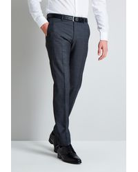 HUGO Grey Micro Design Mix And Match Trousers