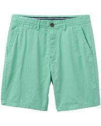 Crew Light Green Chino Shorts