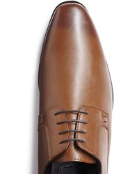 Moss London Fitzroy Tan Derby - Brown