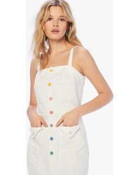 Mother To The Point Dress Taste The Rainbow - White