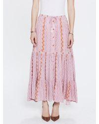 Natalie Martin Sierra Skirt Mauve