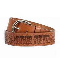 Mother The Buckle Up Mf - Brown