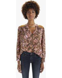 Xirena Aimi Shirt Earth - Multicolour