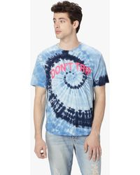 Mother - The Buster Don't Trip Tie Dye Navy - Lyst