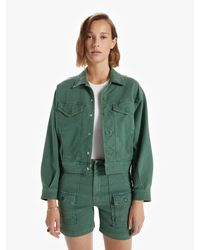 Mother The Fly Away Jacket So Far Gone Army - Green