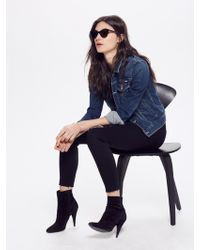 Mother Denim - The Looker Ankle Fray - Lyst