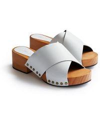 Lisa B Criss Cross Sandal - Multicolor