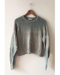 M.Patmos Dolman Cashmere Sweater - Grey/indigo - Gray
