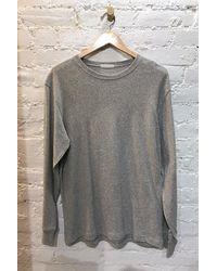 M.Patmos Lightweight Mens Sweatshirt - Gray Heather