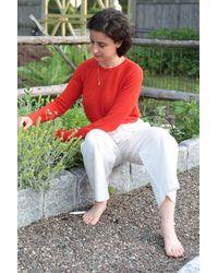 M.Patmos Brighton Cashmere Pullover - Poppy - Red