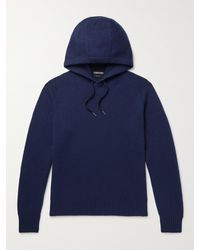 Tom Ford Cashmere Hoodie - Blue