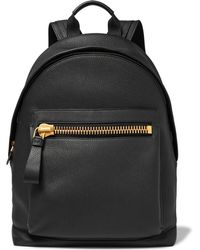 Tom Ford - Buckley Grained-leather Backpack - Lyst