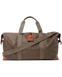 Mulberry Medium Clipper Holdall - Brown
