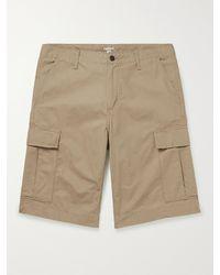 Carhartt WIP Cotton-ripstop Cargo Shorts - Natural