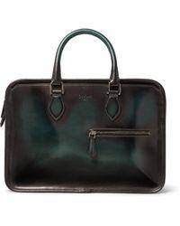 Berluti - Un Jour Mini Leather Briefcase - Lyst