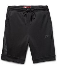 Nike - Cotton-blend Tech Fleece Shorts - Lyst
