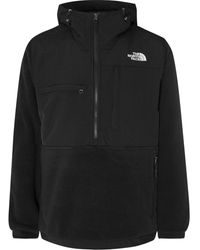 The North Face Denali Panelled Fleece And Shell Jacket - Black