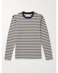 Orlebar Brown Graydon Striped Cotton T-shirt - Blue