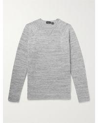 Incotex Virgin Wool-blend Jumper - Grey