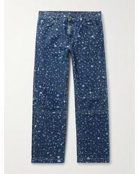 McQ Jack Bleached Jeans - Blue