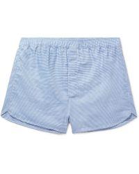 Derek Rose - Barker Puppytooth Cotton Boxer Shorts - Lyst