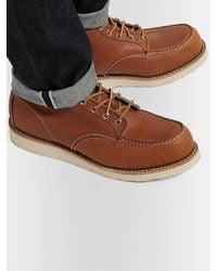 Red Wing Classic Moc Leather Boots - Brown