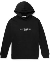 Givenchy Embroidered Logo Hoody - Black