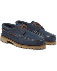 Timberland - Nubuck Boat Shoes - Lyst