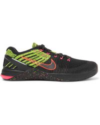 Nike - Metcon Dsx Flyknit And Rubber Trainers - Lyst