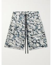 Reese Cooper - Printed Ripstop Drawstring Cargo Shorts - Lyst