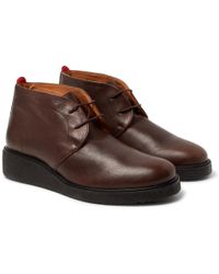 Oliver Spencer | Baxter Leather Chukka Boots | Lyst