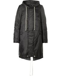 Rick Owens - Ripstop Hooded Parka - Lyst