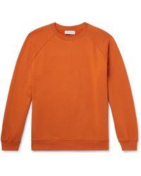 NINETY PERCENT - Loopback Organic Cotton-jersey Sweatshirt - Lyst