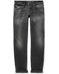 The Workers Club Slim-fit Selvedge Denim Jeans - Grey