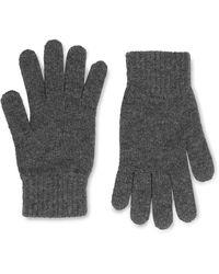 Johnstons Cashmere Gloves - Gray