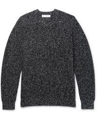 Sandro - Mélange Wool-blend Sweater - Lyst