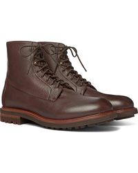 Brunello Cucinelli Leather Boots - Brown