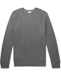 Handvaerk Waffle-knit Pima Cotton-jersey Pyjama Top - Grey