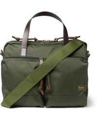 Filson - Dryden Leather-trimmed Nylon Briefcase - Lyst
