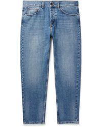 Carhartt WIP Newel Slim-fit Tapered Denim Jeans - Blue