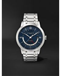 Baume & Mercier Classima Automatic 42mm Stainless Steel Watch - Blue