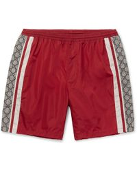 cd8ec7e0bb Men's Gucci Beachwear - Lyst