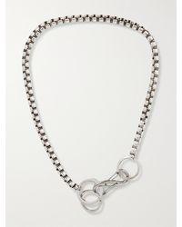 Martine Ali S-boxer Silver-plated Choker Necklace - Metallic