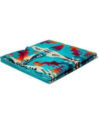 Pendleton Cotton-jacquard Towel - Blue