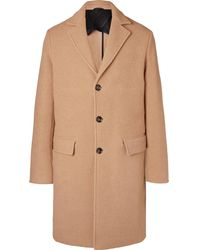 MR P. - Virgin Wool And Camel Hair-blend Overcoat - Lyst